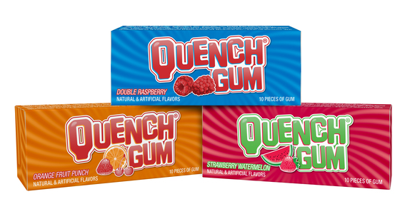 Quench® Gum 10-Stick Packs