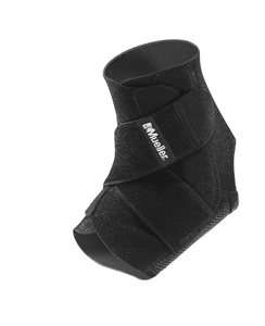 Black One Size Fits Most E-commerce Packaging | Supportive Ankle Brace Mueller Adjustable Ankle Support