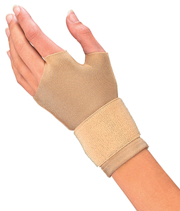 Compression Glove Beige Pair
